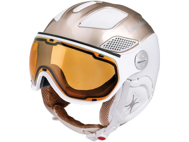Slokker Free Helm Damen gold white